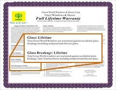 Glass Breakage Warranty For San Diego Customers