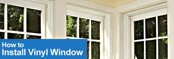 Vinyl windows vinyl windows installation do it yourself for Installing vinyl windows