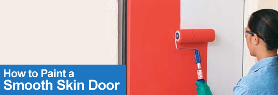 How To Paint Smooth Skin Door