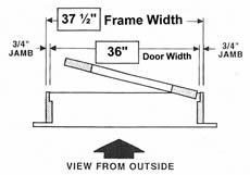 Entry Prehung 6 Panel Top Lite Fiberglass Door