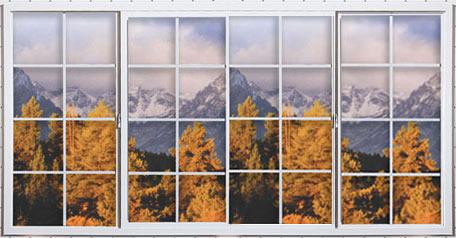 Vinyl Sliding Window Xox