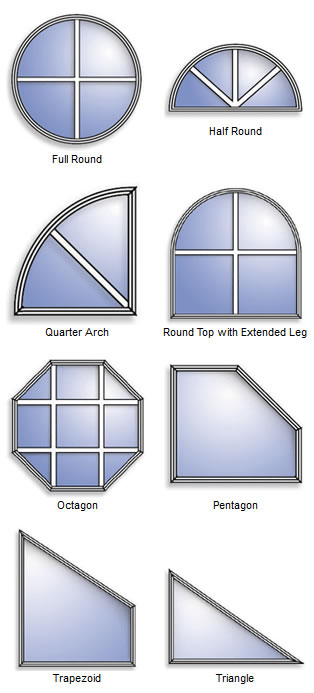 Alpine Picture Window Shapes