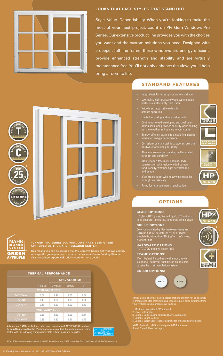 vinyl sliding window brochure