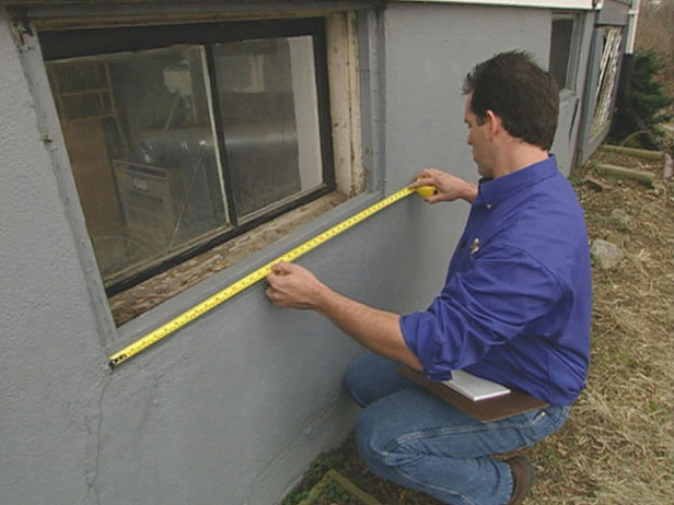 Replace a window that is indented or not flush with the wall How to replace an exterior window