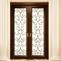 Wood French Door Single Panel
