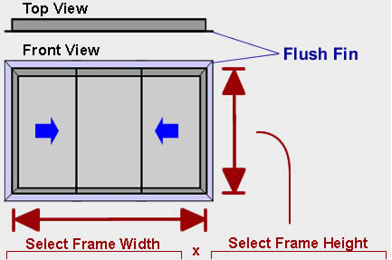 XOX Sliding Window Schematic