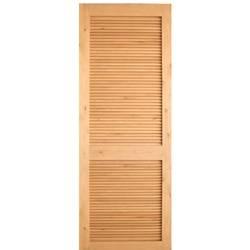 Interior louver knotty alder wood door - Knotty alder interior doors sale ...