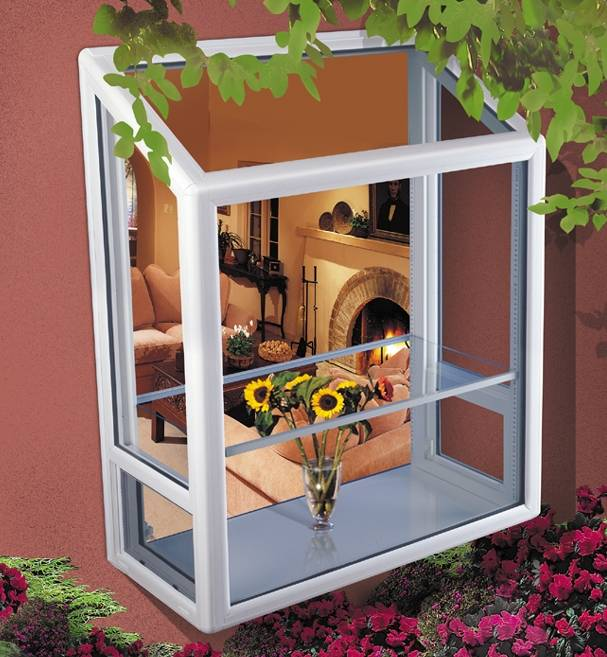 Kitchen Garden Greenhouse Window: Vinyl Garden Windows