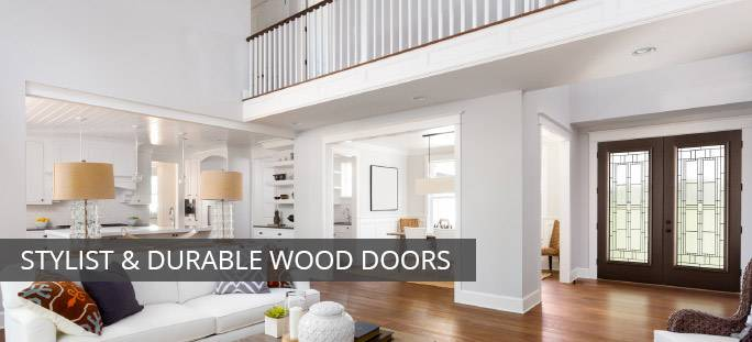 Stylish Solid Wood Doors