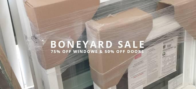 Boneyard Sale