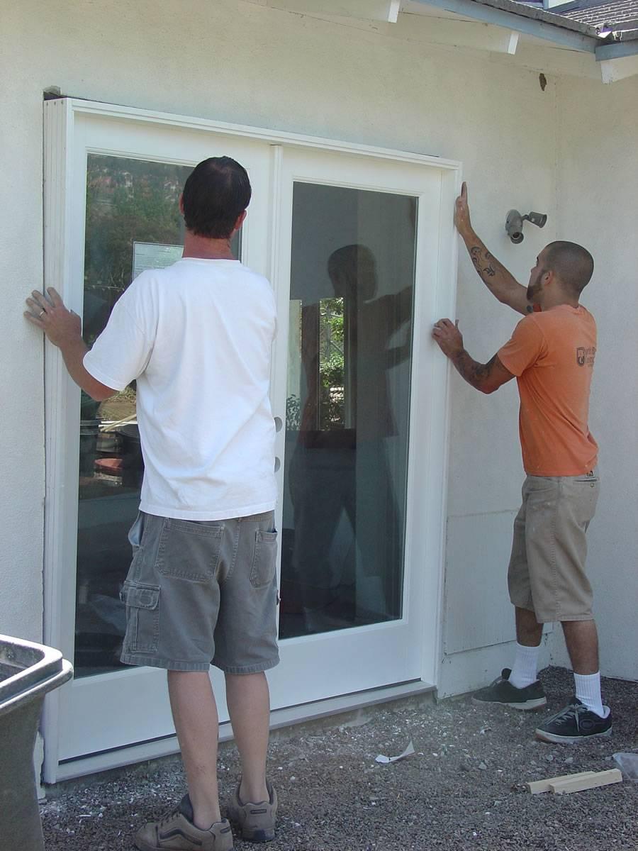 Hire An Installer For Patio Door S Installation