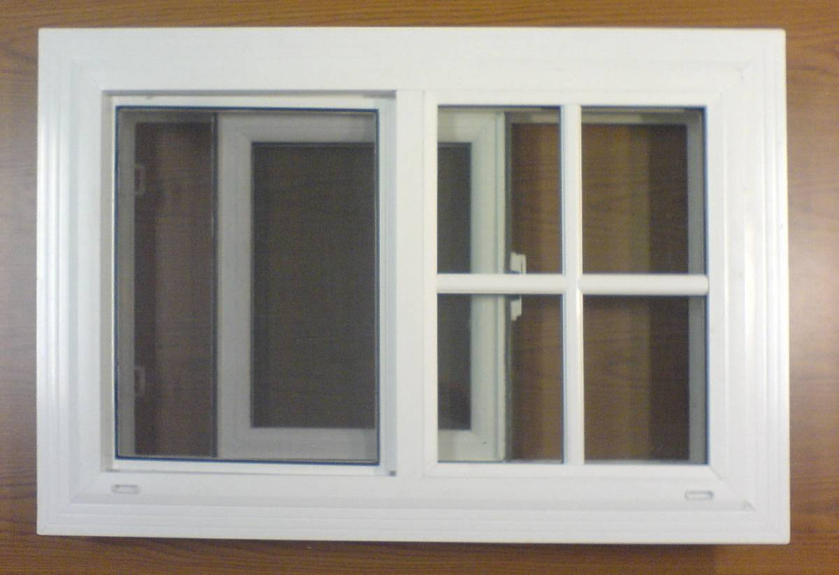 vinyl retrofit sliding window in san diego california