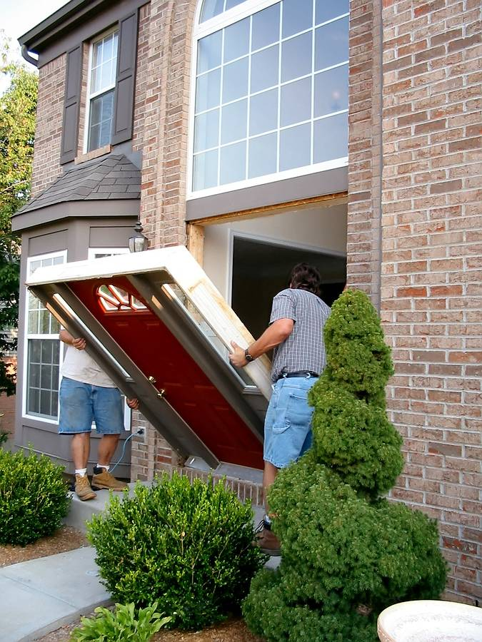 Hire an installer for front door s installation for Entry door installation