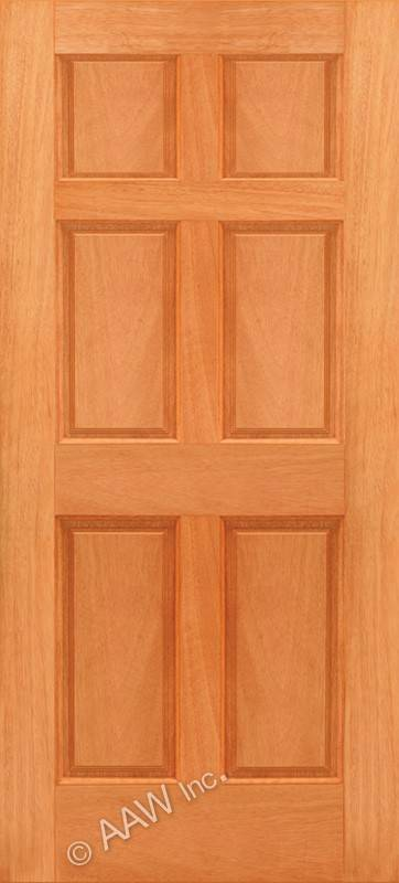 Photo gallery standard wood doors 6 p six panel Solid wood six panel interior doors