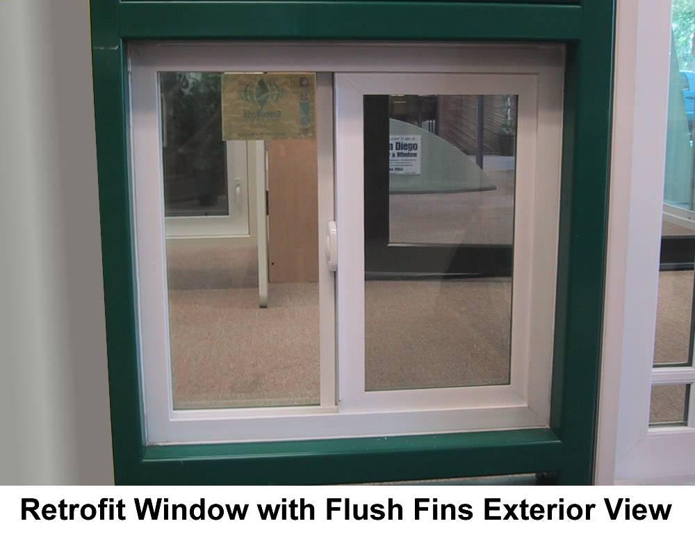Vinyl retrofit sliding alpine window in san diego california for Vinyl sliding windows