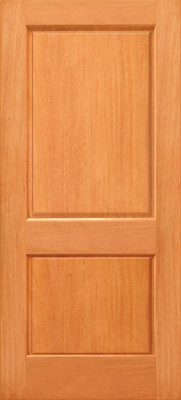 Budget 2 Panel Wood Door