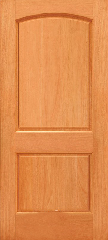 Budget Energy Top Up >> Budget 2 Panel Wood Door with Arched Top