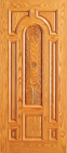 Wood Entry Doors - Entry Wood Door with Plain Panel