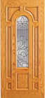 Wood Entry Doors - Entry Wood Door with Lite