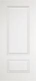 Fiberglass Entry Doors - Smooth Skin Doors - Two Panel Square Top Smooth Fiberglass Door