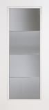 Fiberglass Entry Doors - Smooth Skin Doors - Full Lite Smooth Fiberglass Door