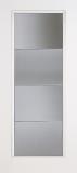 Fiberglass Entry Doors - Smooth Skin Doors - Full Lite Smooth Fiberglass Door