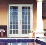 French Doors with Grid
