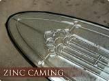 zinc caming