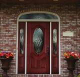 Entry Prehung Oval Deluxe Door with 2 Sidelights - Image 3