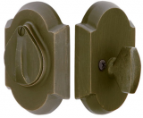 Hardware - Emtek - #1 Single Plate with Flap Deadbolt