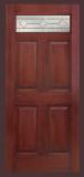 6 panel Top Lite Fiberglass Door slab