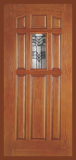 Other Doors - Entry Prehung 9 Panel Decorated Glass Fiberglass Door  - Entry Prehung 9 Panel Decorated Glass Fiberglass Door