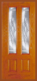 Other Doors - Entry Prehung Vertical Decorated Glass Fiberglass Door - Entry Prehung Vertical Decorated Glass Fiberglass Door