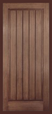 Doors - . - Wood Grain Rustic  One Panel w/ Plank