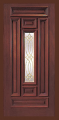 Doors - Wood Entry Doors - Entry Prehung Rectangular Designs Mahogany Wood Door