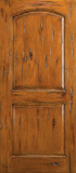 Doors - Wood Entry Doors - Raised 2 Panel Wood Door