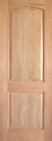 Wood Entry Doors - Interior Doors - Interior Rustic 2 Panel Wood Door