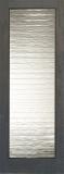 Doors - Wood Entry Doors - Decorative Small Wave Glass Door