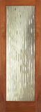 Doors - Wood Entry Doors - Decorative Waterfall Glass Door
