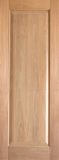 Doors - Wood Entry Doors - Interior Rustic Single Panel Wood Door