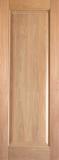 Wood Entry Doors - Interior Doors - Interior Rustic Single Panel Wood Door