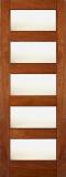 Wood Entry Doors - Interior Doors - Interior Matte Glass Door