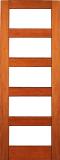 Wood Entry Doors - Interior Doors - Interior Clear Glass Door