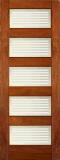Wood Entry Doors - Interior Doors - Interior Matte Bars Door