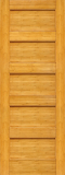 Wood Entry Doors - Interior Doors - Interior Bamboo Wood Panel Door