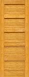 Wood Entry Doors - Interior Doors - Interior Bamboo Wood Panel Door