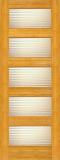 Wood Entry Doors - Interior Doors - Interior Bamboo Matte Line Door