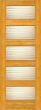 Wood Entry Doors - Interior Doors - Interior Bamboo Matte Line Door