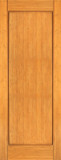 Wood Entry Doors - Interior Doors - Interior Bamboo Wood Single Panel Door