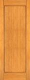 Wood Entry Doors - Interior Doors - Interior Bamboo Wood Single Panel Door
